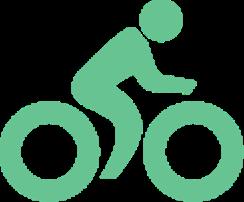 自転車通勤比率